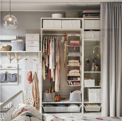 Pax Caisson D'armoire Blanc
