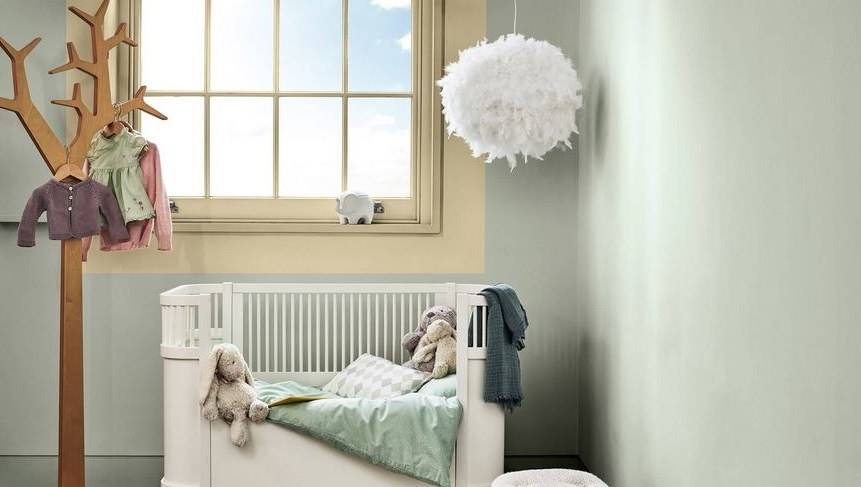 Chambre D'enfant Moderne Avec Douceur De L'aube –