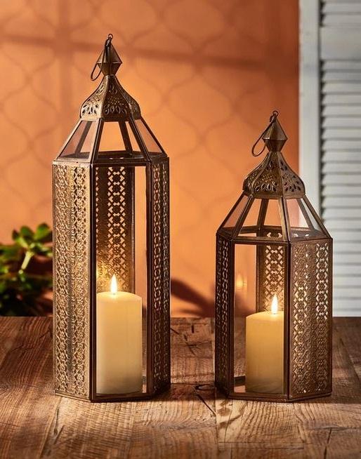 Duo De Lanternes Marocaines Artisanales Alisah