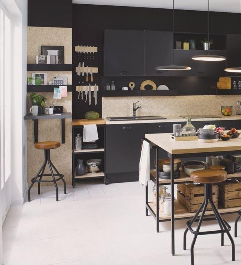 Cuisine Industrielle Noire – Vega Prem's