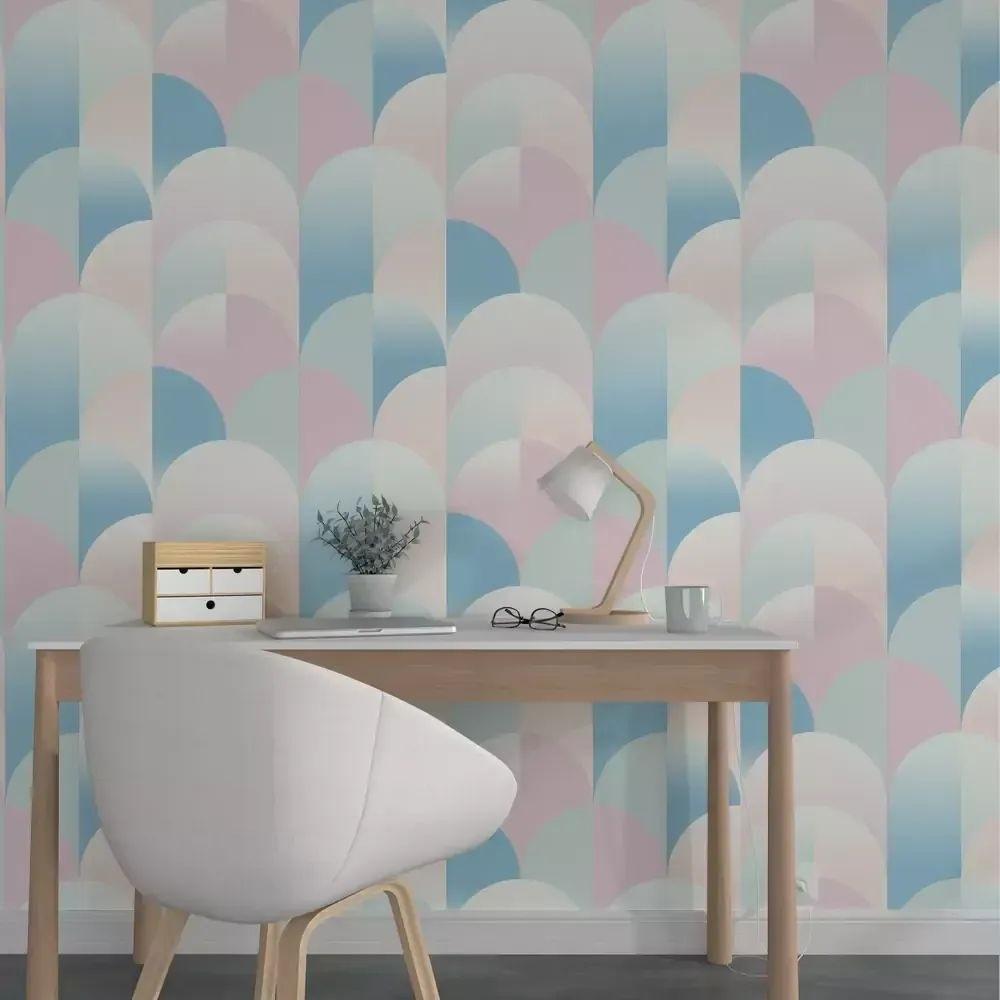 Papier Peint Norrland Multicolore