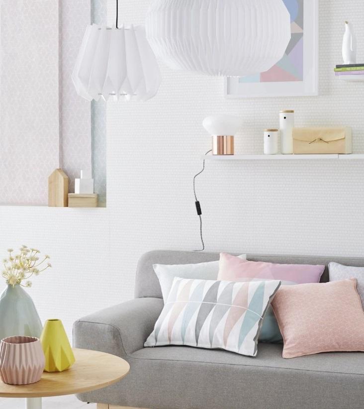 Salon Scandinave Pastel