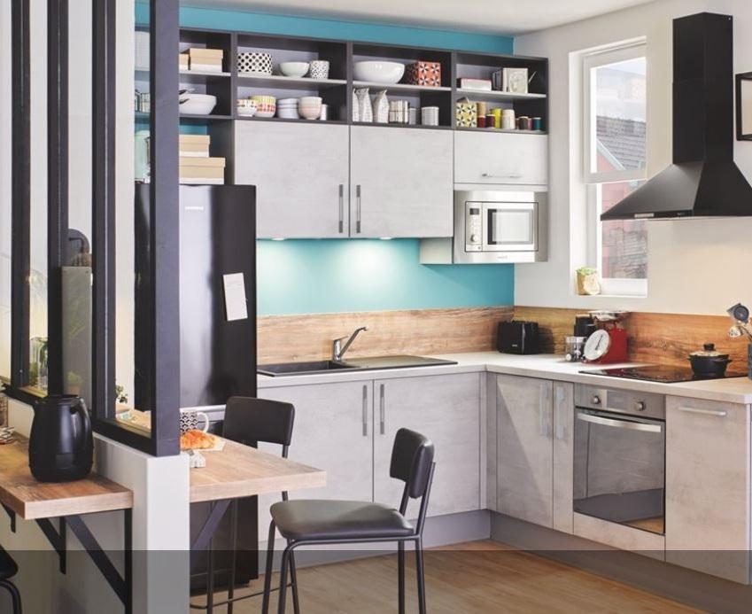 Cuisine Style Industriel – Vega+