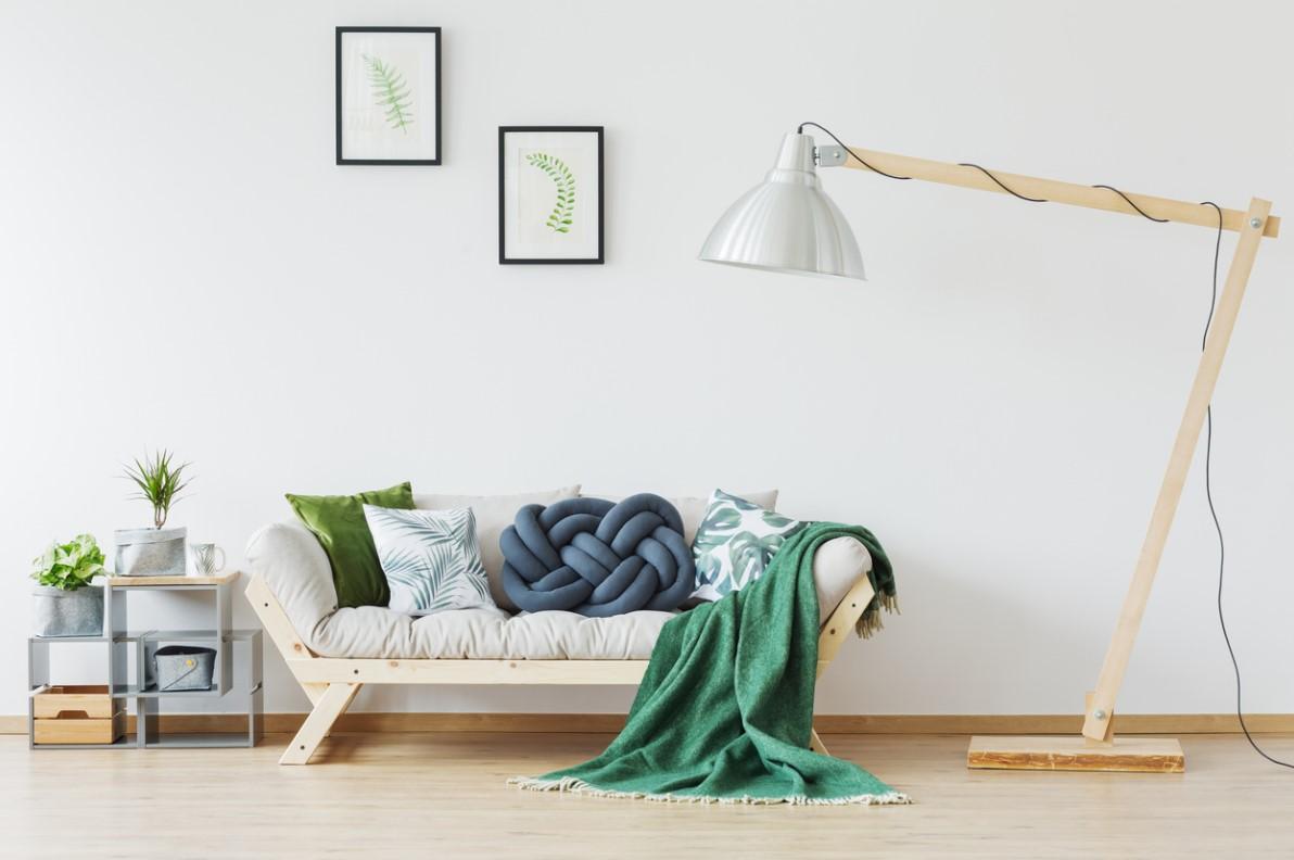Un Peu De Vert Dans Votre Salon Scandinave