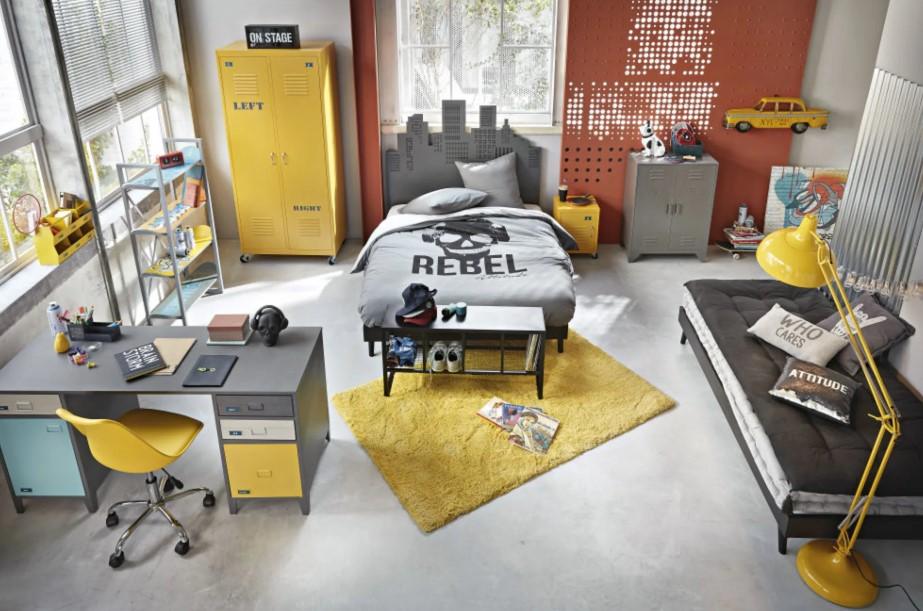 Chambre Ado Style Atelier