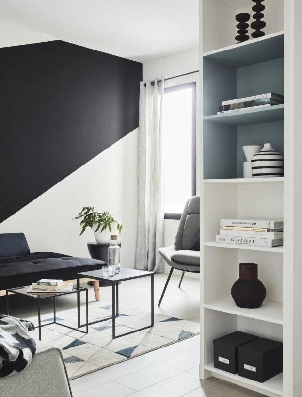 Salon Moderne Et Graphique