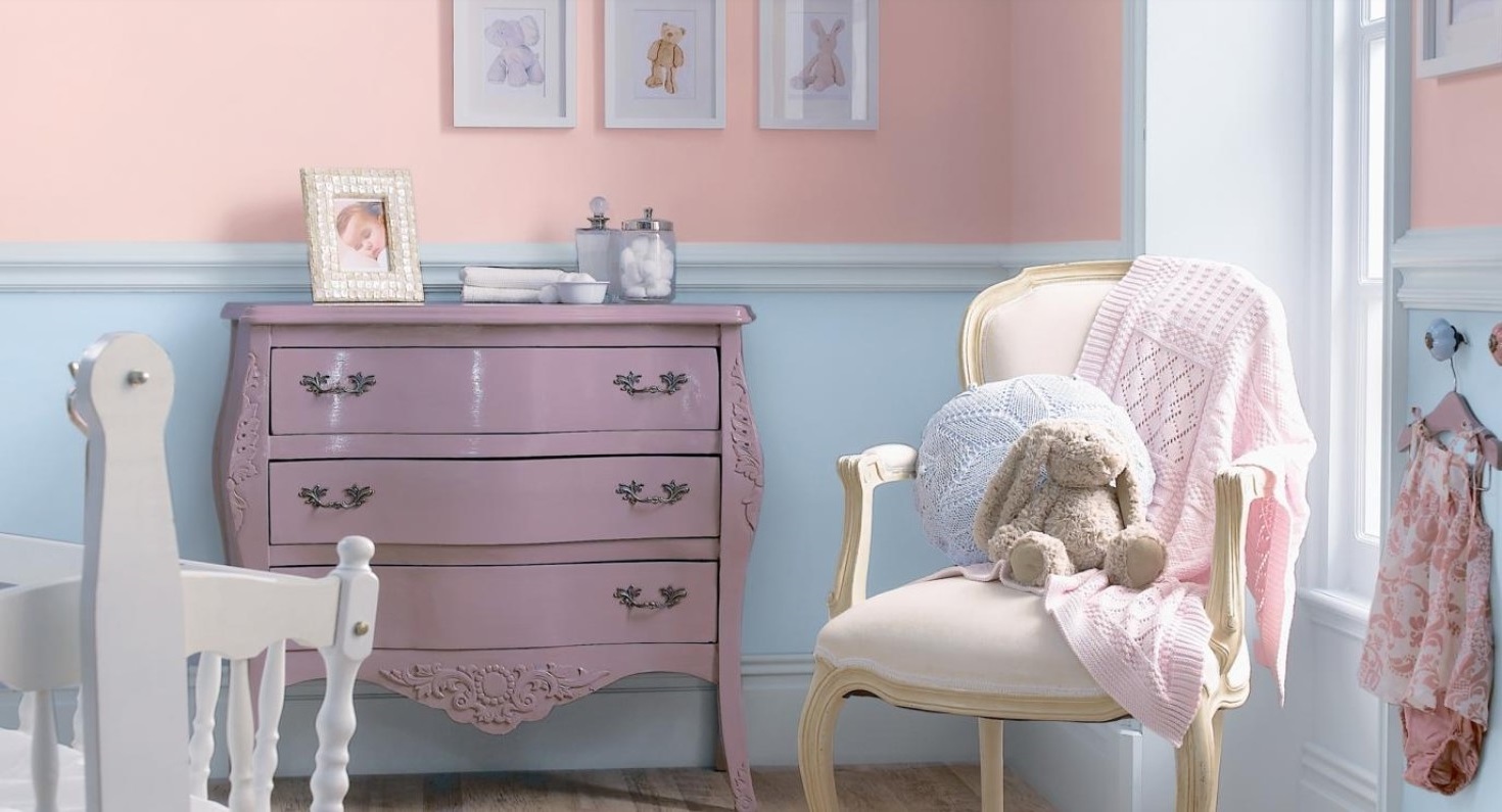 Chambre Bébé Aux Couleurs Pastels