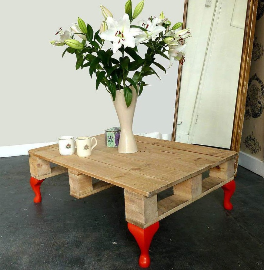 Table basse palette