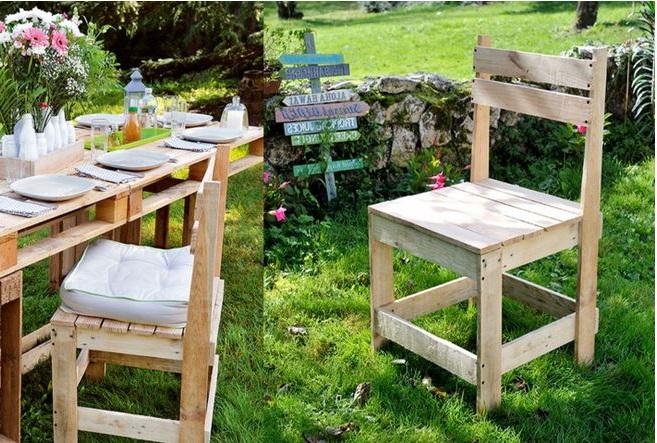 Fabriquer Une Chaise De Jardin En Palettes –