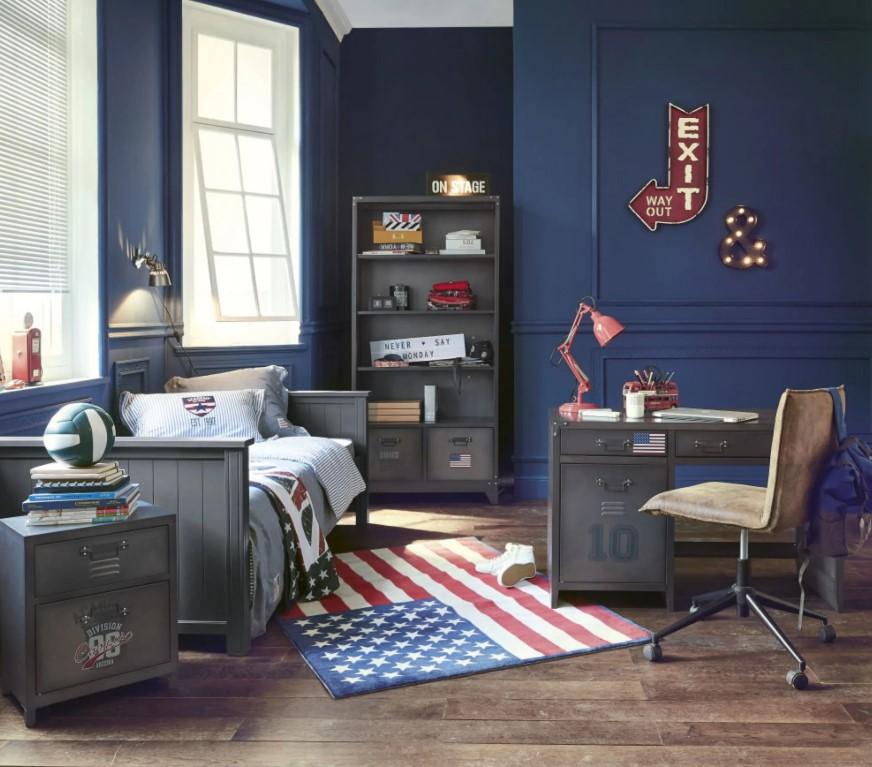 Une Chambre Ado De Style Américain