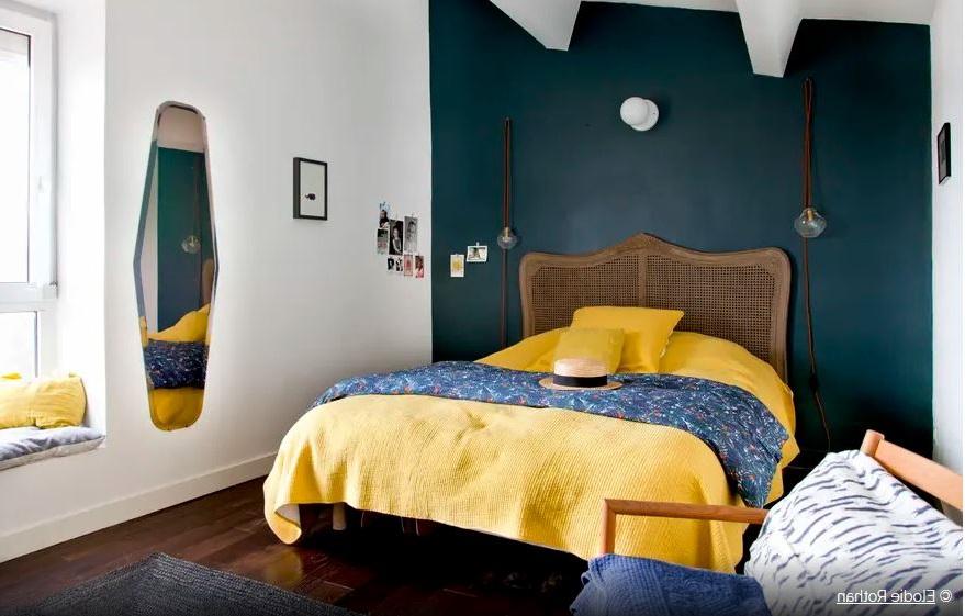 Chambre Bleue Et Jaune –