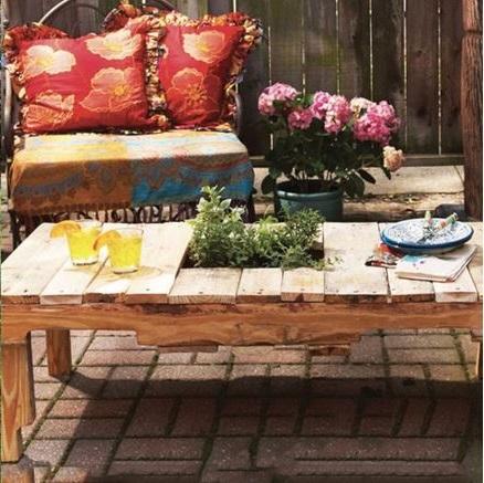 Pour Faire Son Salon De Jardin En Palettes