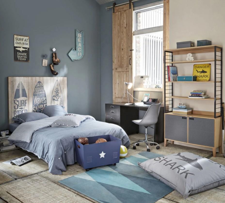 Chambre Bleue Pour Un Ado