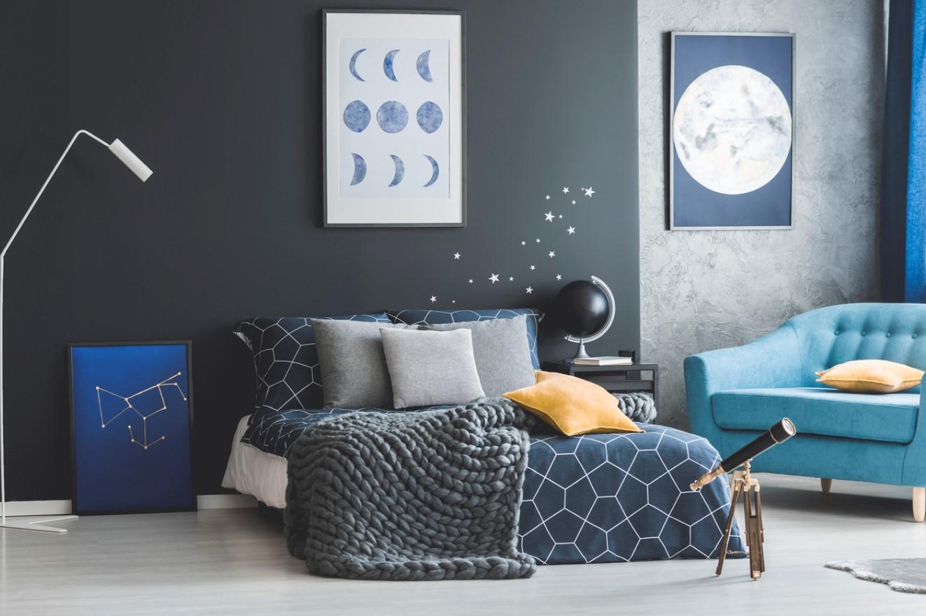 Une Chambre Bleue Pour S'évader