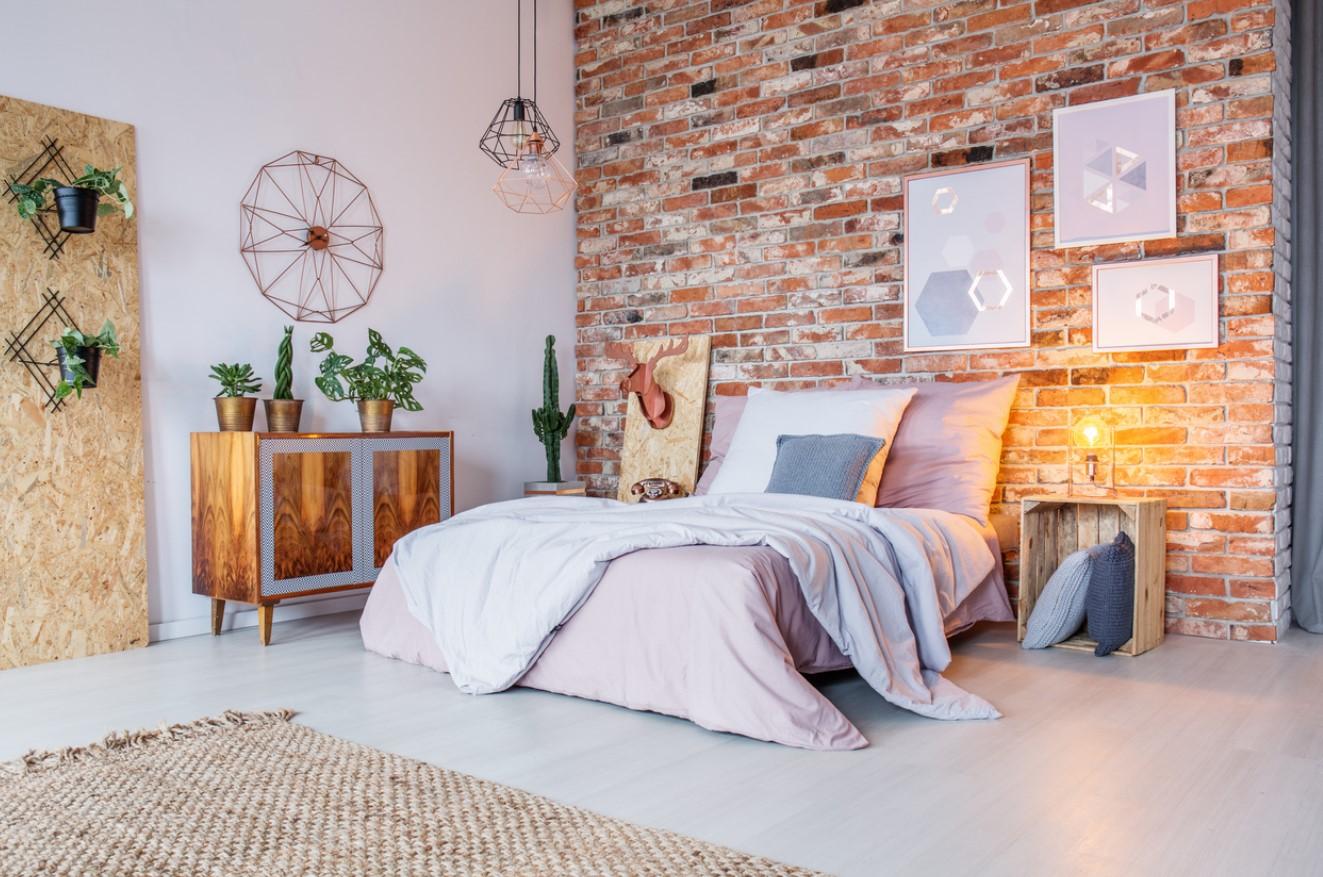 Chambre Moderne Et Chaleureuse