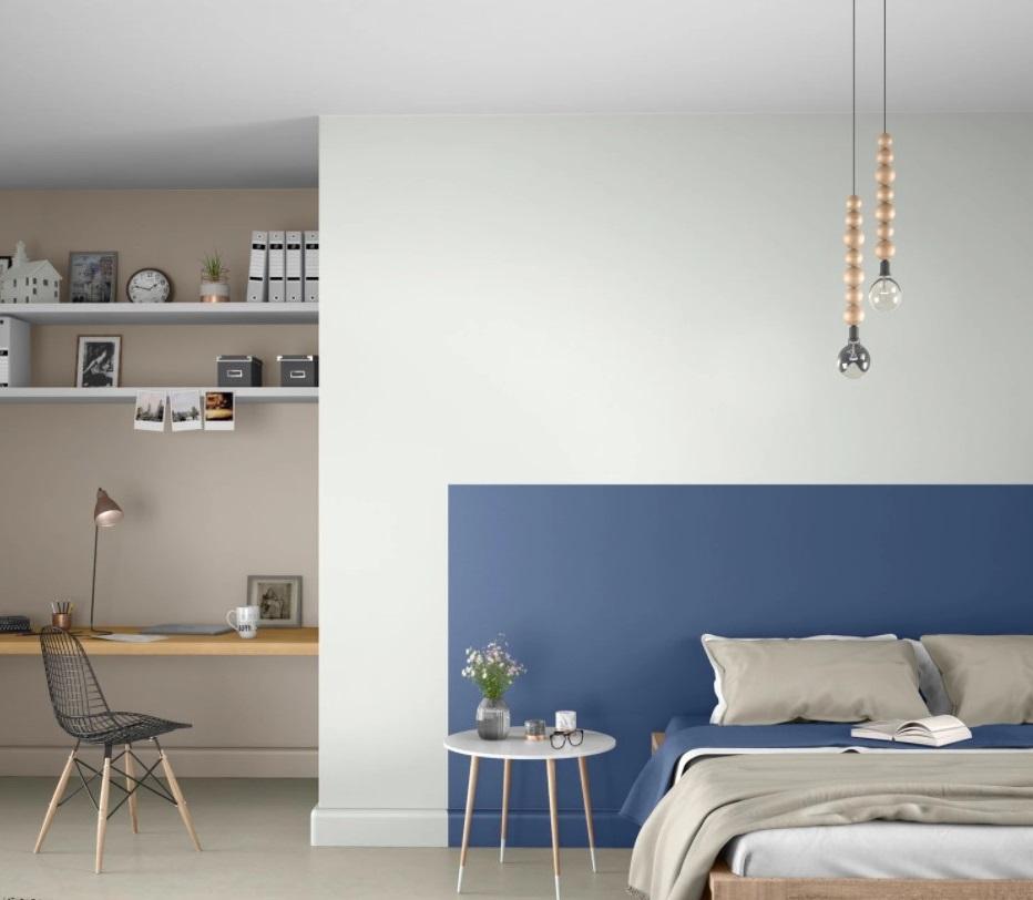Chambre Tête De Lit Bleue