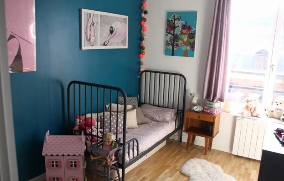 Chambre Enfant Bleue Et Rose