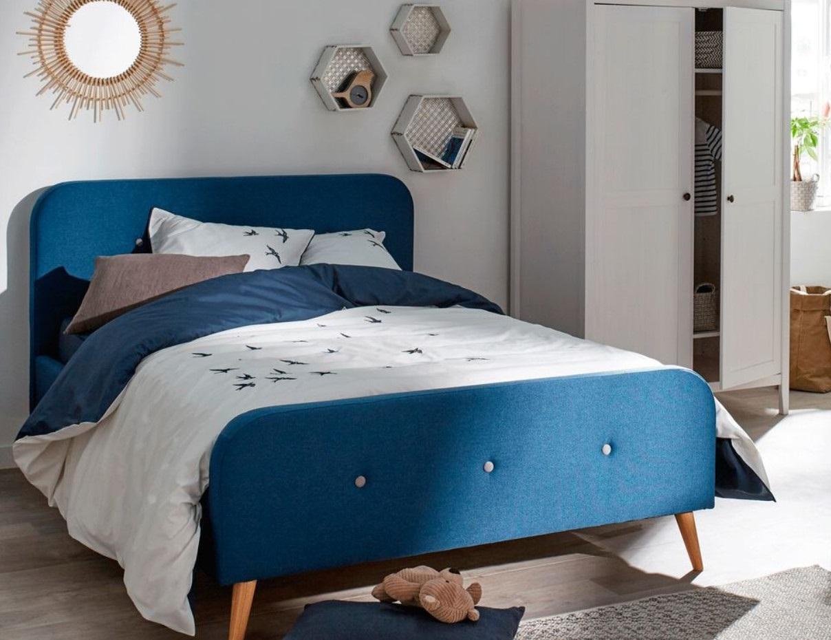 Chambre Avec Lit 2 Places Bleu