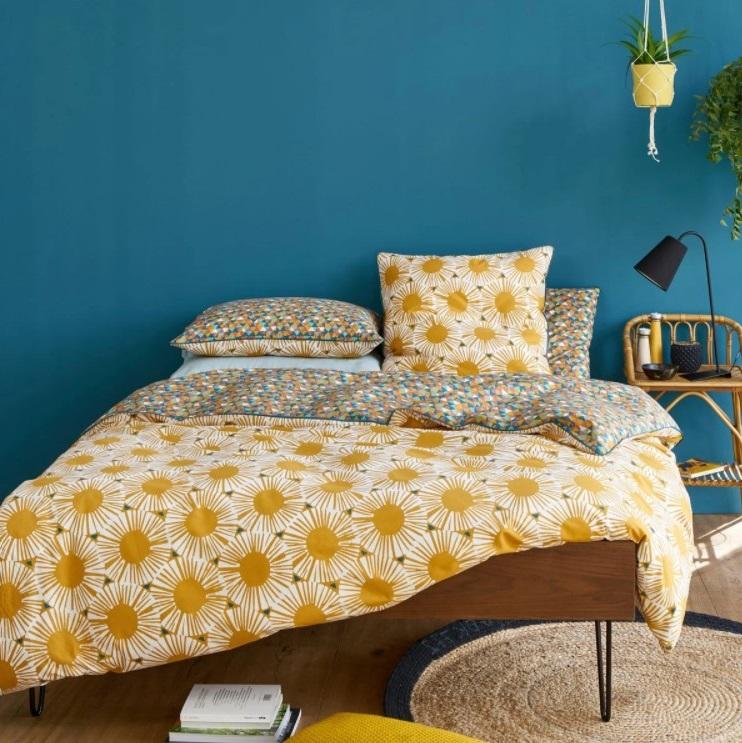 Chambre Bleue Et Jaune