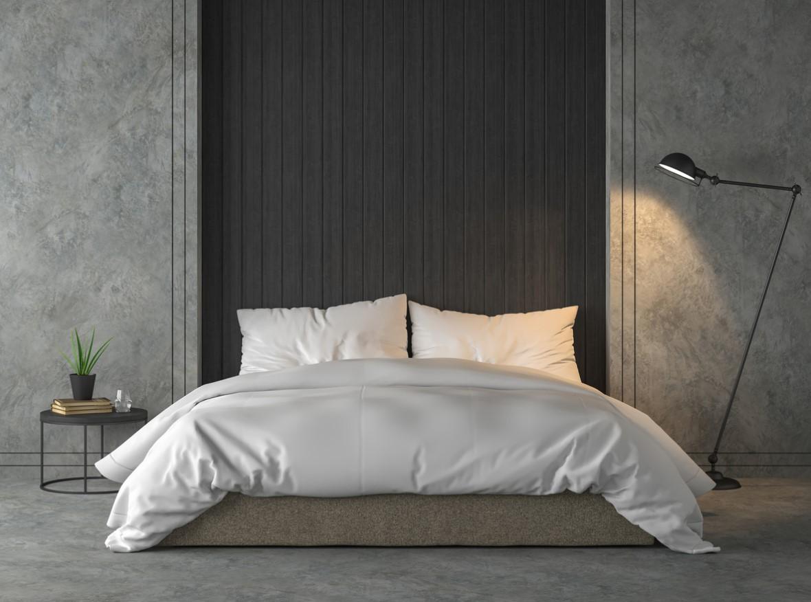 Chambre Moderne De Style Loft
