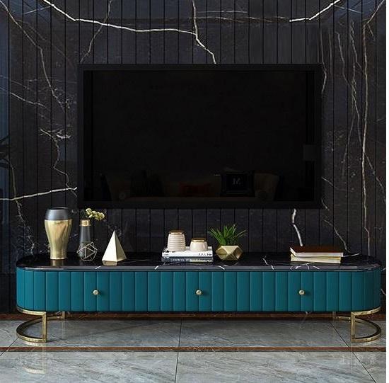 Meuble Tv Ovale Moderne –