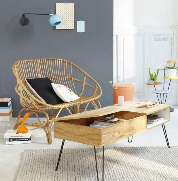 Twist Table Basse Vintage
