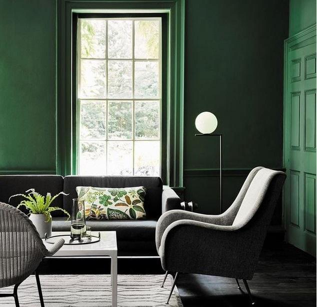 Salon Vert Profond –