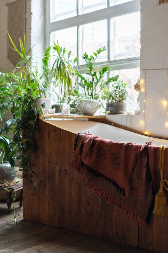 Une Baignoire Où Se Détendre Dans Une Salle De Bain Zen
