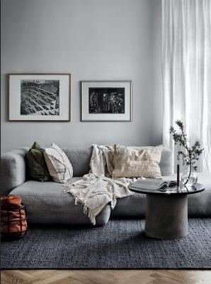 Eclairer Un Salon Gris Avec Des Accessoires Blancs –