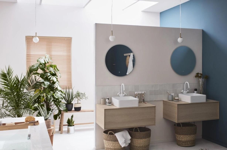 Salle De Bain Design Et Chaleureuse