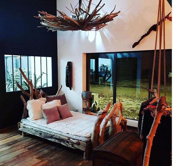 Chambre à Coucher Bois Flotté –