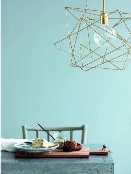 Asymmetric Lampe Suspension En Métal Gris –