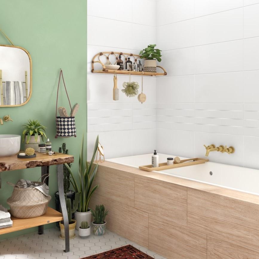Du Vert Pour Une Salle De Bain Zen