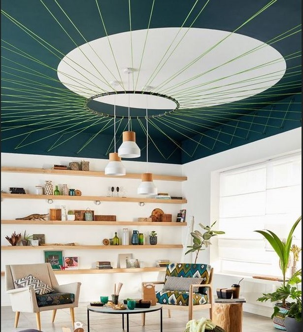 Du Vert Au Plafond –
