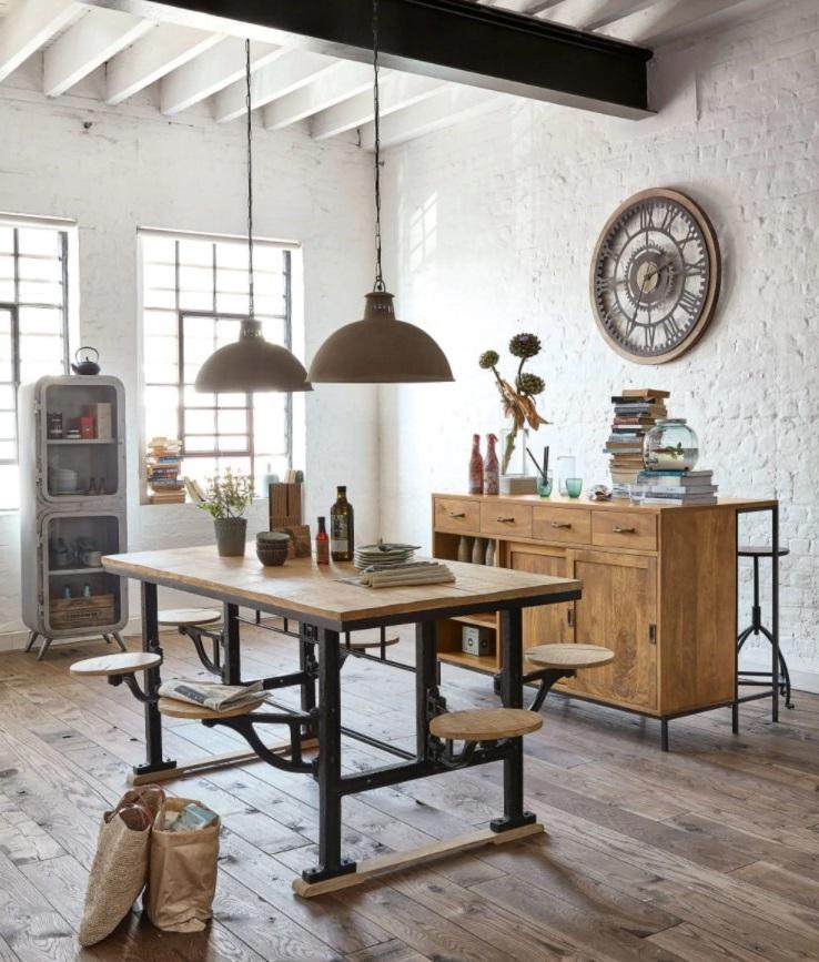 Table Factory Avec Tabourets