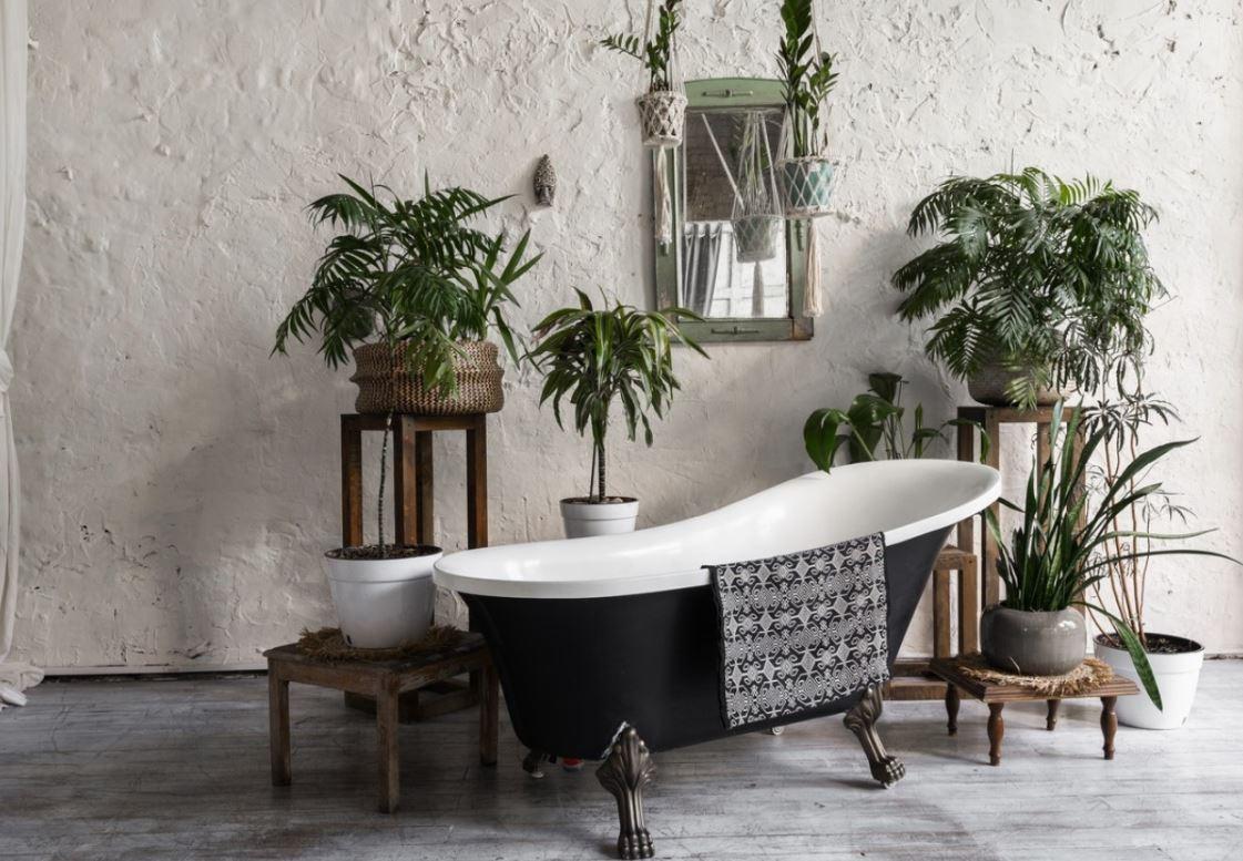 Une Baignoire Vintage Pour Une Salle De Bain Originale