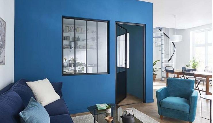 Adopter Le Bleu Dans Son Salon –