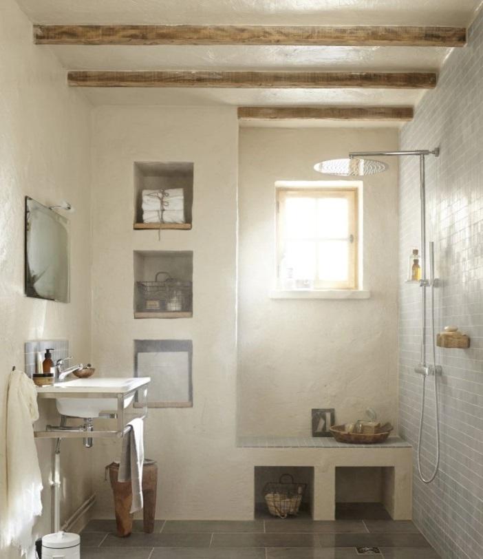 Une Douche à L'italienne Sans Paroi