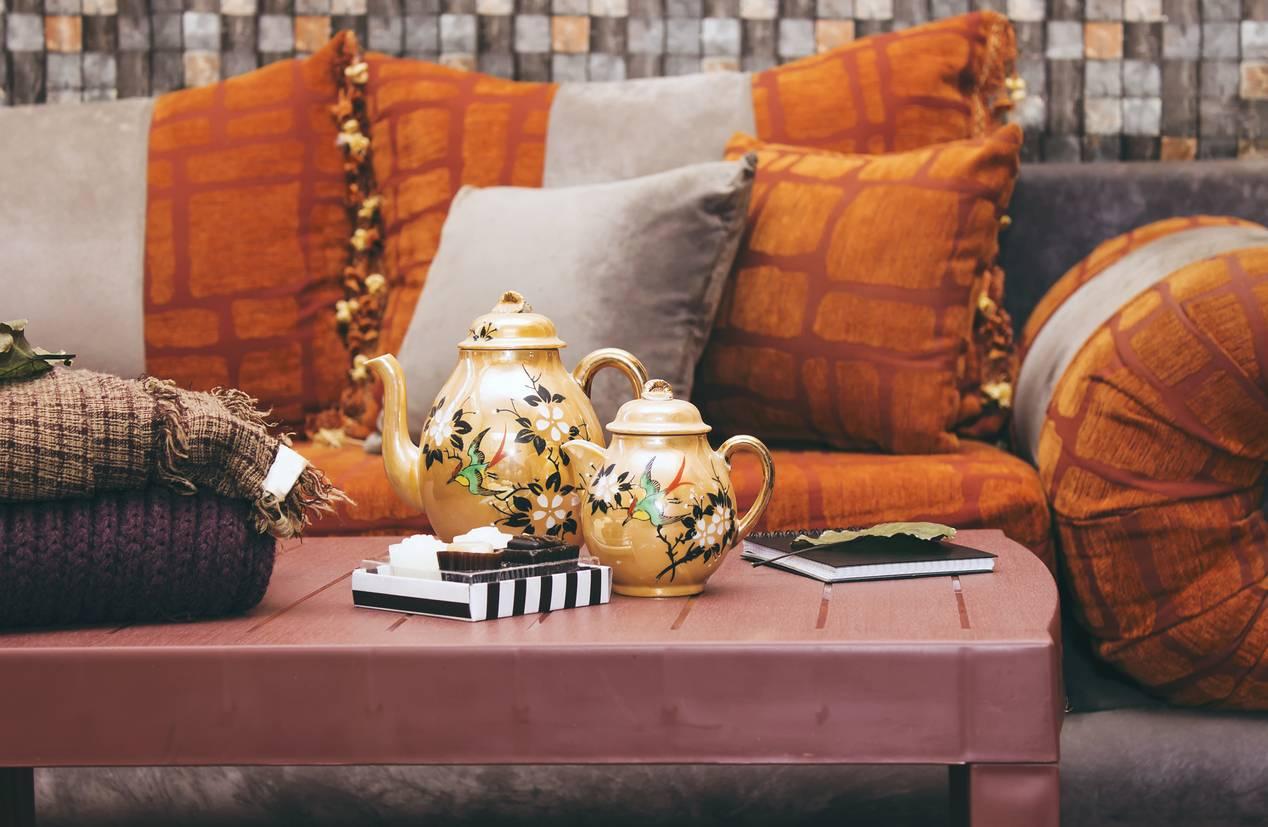 salon déco marocaine